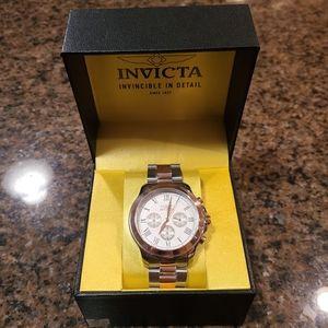Men's Invicta Swiss Quartz Two Tone Watch